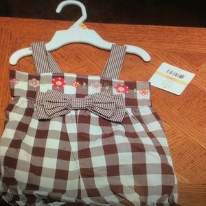 NWT Little Me sz 12 month outfit